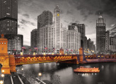 Chicago Michigan Avenue Jigsaw Puzzle