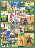 Golf Around the World Jigsaw Puzzle