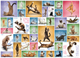 Yoga Cats Jigsaw Puzzle