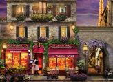 Red Hat Restaurant Paris Jigsaw Puzzle