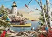 Winter Light Christmas Card