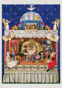 Nativity Shrine II Christmas Card