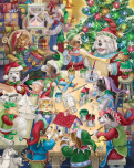 North Pole Pets Jigsaw Puzzle