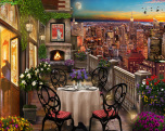 New York Evening Jigsaw Puzzle