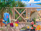 Peaceful Paradise Jigsaw Puzzle