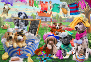 Laundry Day Kid's Jigsaw Puzzle