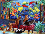 Kittens Fishing Jigsaw Puzzle