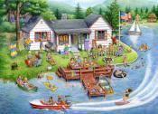 Lake House Jigsaw Puzzle