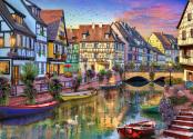 Colmar Canal Jigsaw Puzzle