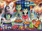 Monster Banquet Jigsaw Puzzle