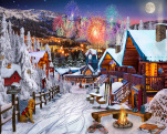 Winter Playground Jigsaw Puzzle