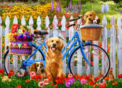 Pedal Pups Jigsaw Puzzle