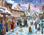 Winter Stroll Jigsaw Puzzle