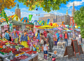 Summer Market Jigsaw Puzzle