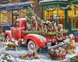 Doggone Christmas Jigsaw Puzzle