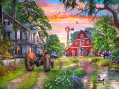 Working Farm Jigsaw Puzzle