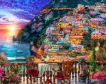 Positano Sunset Jigsaw Puzzle