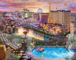 Las Vegas Twilight Jigsaw Puzzle