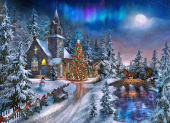 Christmas Night Jigsaw Puzzle
