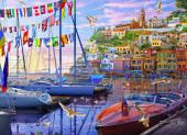 Boat Harbor Jigsaw Puzzle