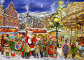 Christmas Carousel Jigsaw Puzzle
