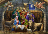 In the Manger Jigsaw Puzzle