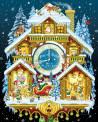Christmas Cuckoo Clock Jigsaw Puzzle