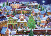 Christmas Village Jigsaw Puzzle