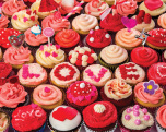 Cupcakes of Love Jigsaw Puzzle