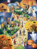 Halloween Town Jigsaw Puzzle