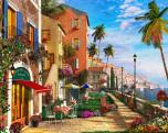 Mediterranean Terrace Jigsaw Puzzle