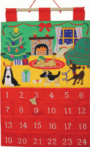 Dog Gone It Fabric Advent Calendar