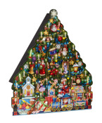 Christmas Tree Wooden Advent Calendar