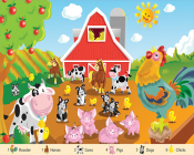 Farm Friends 24 Piece Floor Puzzle