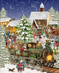 Christmas Train Jigsaw Puzzle
