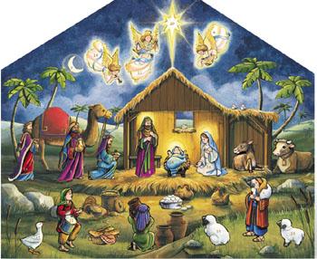 Wooden Christmas Advent Calendars