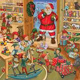 Santa's Toyworks Jumbo Advent Calendar