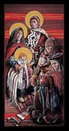 Adoration Magi Christmas Card