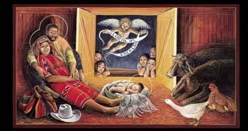 Guatemalan Nativity Christmas