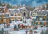 The Spirit of Christmas Christmas Card