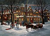 Christmas Eve Christmas Card