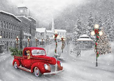 Holiday Ride Christmas Card