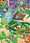 Garden Hustle Jigsaw Puzzle