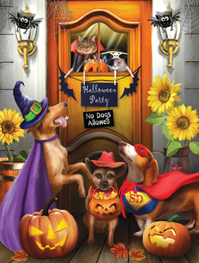 Halloween Party Jigsaw Puzzle