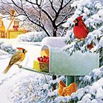 Mailbox Treasures Jigaw Puzzle