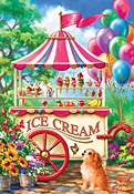 Ice Cream Cart Jigsaw Puzzle