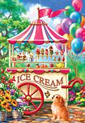 Ice Cream Cart Jigsaw Puzzle