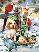 Winter Warmth Jigsaw Puzzle