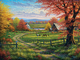 Peaceful Tranquility Jigsaw Puzzle