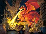 Smaug Dragon Jigsaw Puzzle